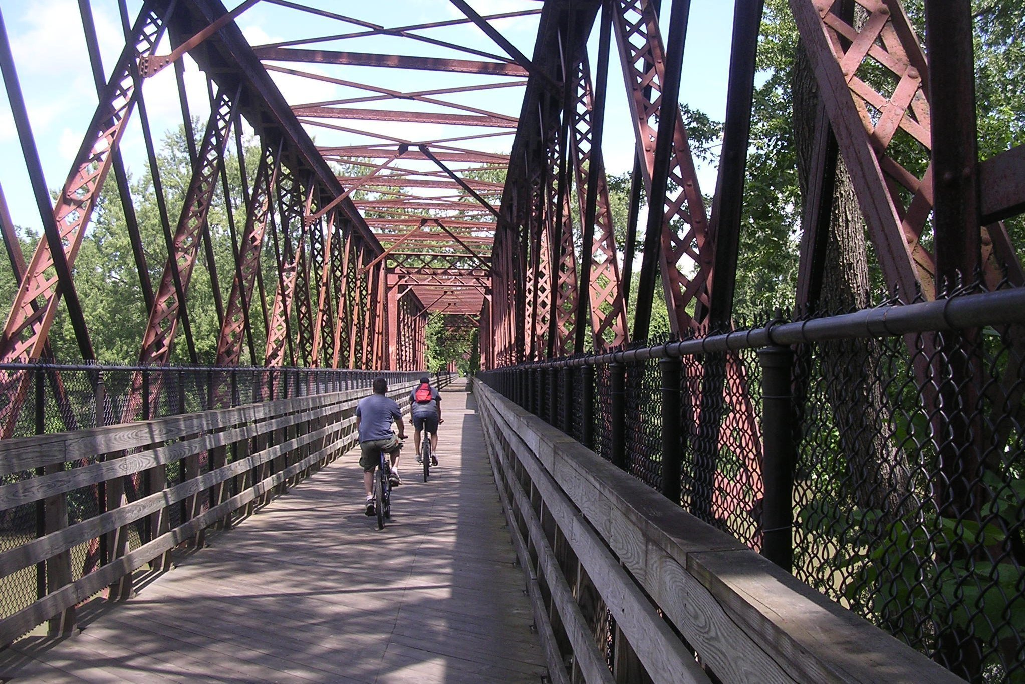 Surrounded By Biking And Hiking Trails
